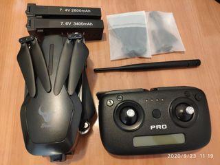 Dron Sg906 pro2, gimbal 3 ejes, 2 baterías