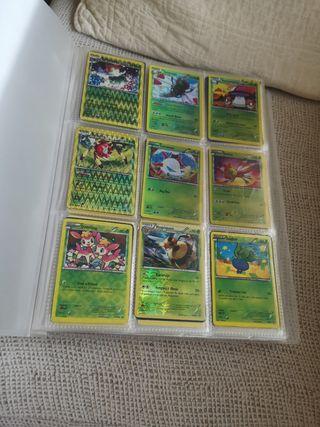 Álbum de Pokémon.
