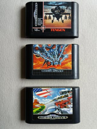 lote juego Sega Mega Drive