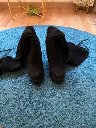 Botas de tacón altas