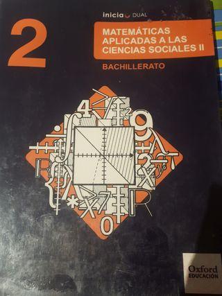 matemáticas aplicadas C.Sociales 2°Bachiller