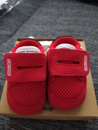 zapatilla bebe munich 16 rojas