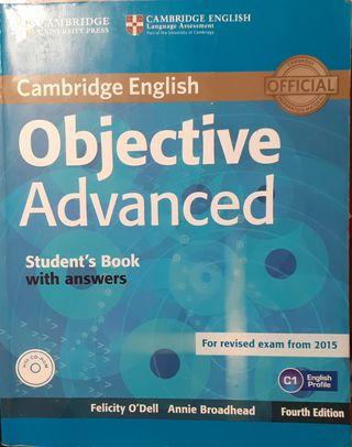 Libro inglés C1 Objective Advanced