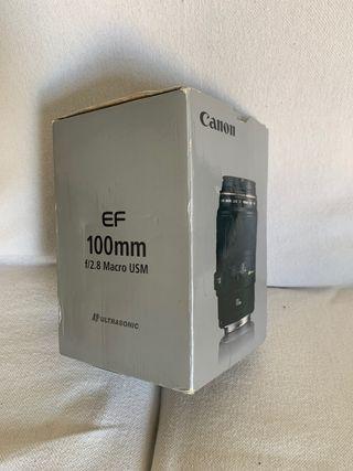 Vendo macro Canon EF 100mm f/2.8 Macro USM