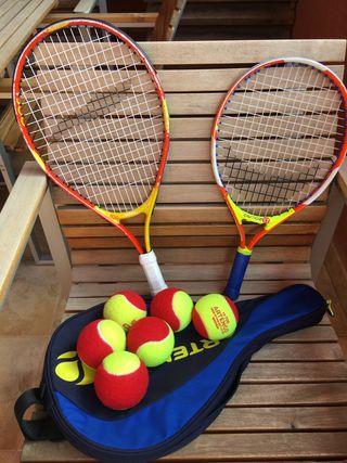 Raquetas Tenis niño/niña