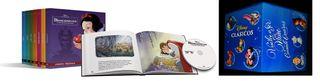 CLASICOS DISNEY. (20 PELICULAS DVD + LIBROS).