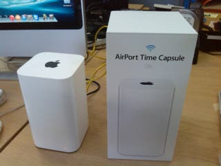 Apple Time Capsule 2TB Wifi y disco perfecto