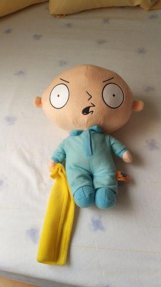 Peluche Stewie con pijama, 30 cms. Family Guy