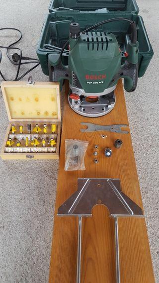 Bosch POF 1400 ACE - Fresadora de superficie (1.40