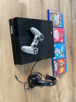 PlayStation 4 Ps4 500 gb edición Watch Dogs