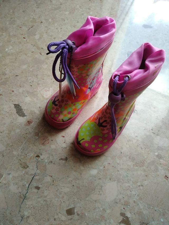 botas de agua nuevas de la marca tuc tuc