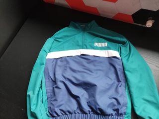chaqueta puma con bolsillos