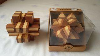 Pack Puzzle 3D de bambu