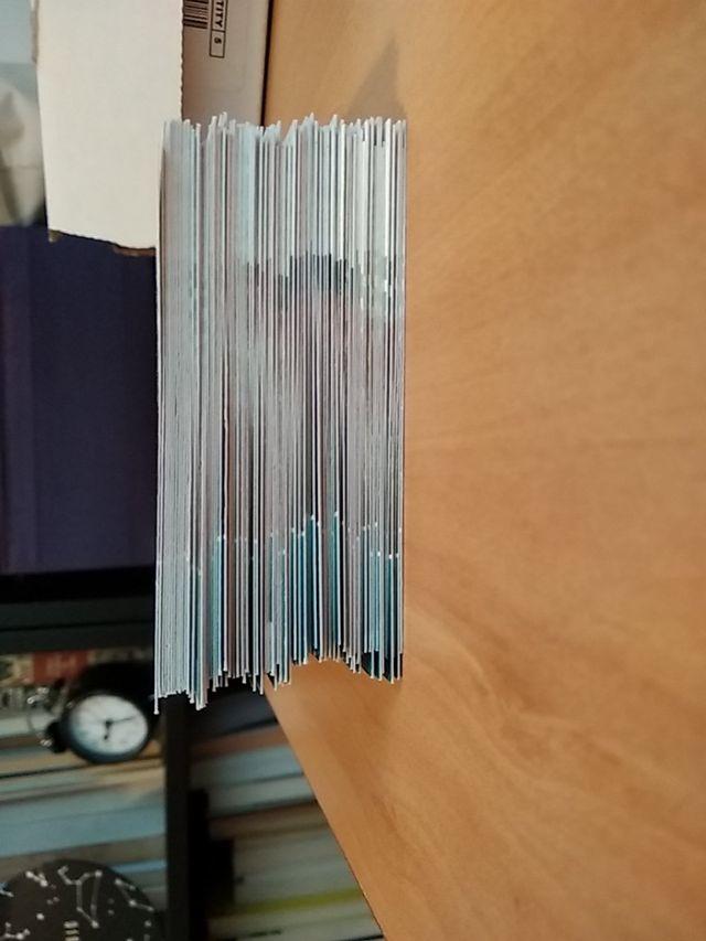 100 cromos de la colección Adrenalyn Euro 2012