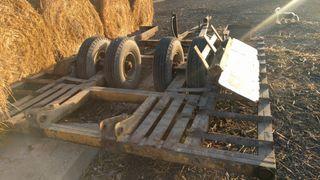 plataforma transporte tractor y cosechadora