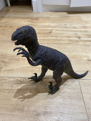 Figura dinosaurio grande Velociraptor