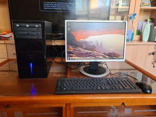 ordenador completo con wifi pantalla 19 panorámica