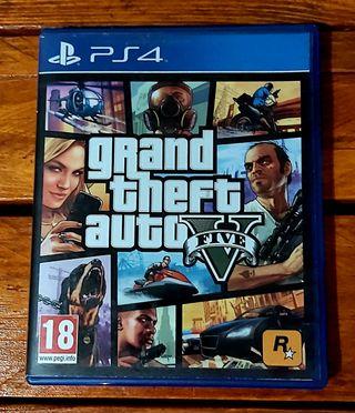 GRAND THEFT AUTO V PS4 (GTA V)