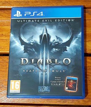DIABLO III REAPER OF SOULS (PS4)