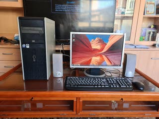 ordenador completo con wifi pantalla 19 pulgadas