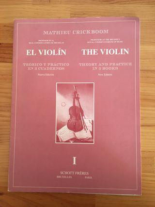 El violín. Teórico y práctico en 5 cuadernos. I