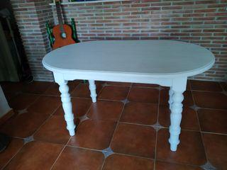 Mesa de comedor pino