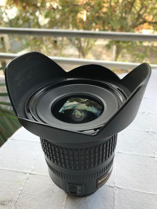 Objetivo Nikon DX 10-24 f/3.5-4.5