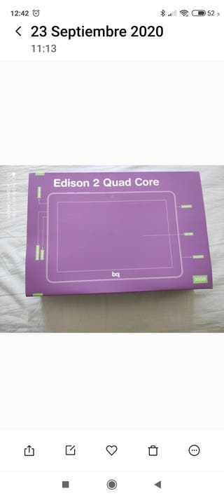 Tablet BQ Edison 2 Quad Core