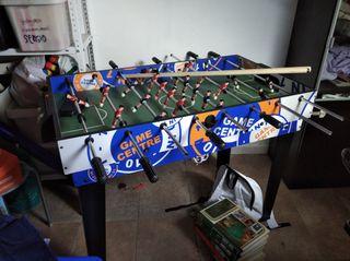 mesa de juegos billar futbolín pinpon