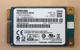 Disco duro Toshiba SSD mSATA 256gb