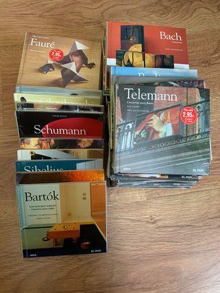 Colección 50 CD-Libros música clásica de El Pais