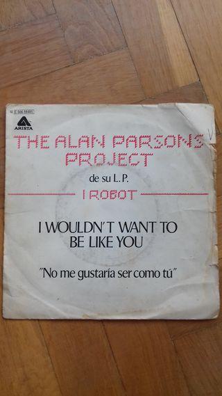 Single de vinilo de The Alan Parsons Proyect