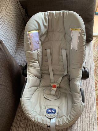 Silla coche bebé marca Chicco