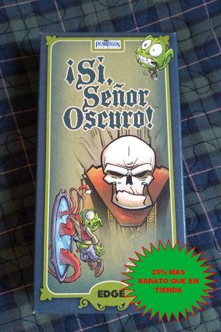 Juego de mesa: SI SEÑOR OSCURO (Caja Verde)