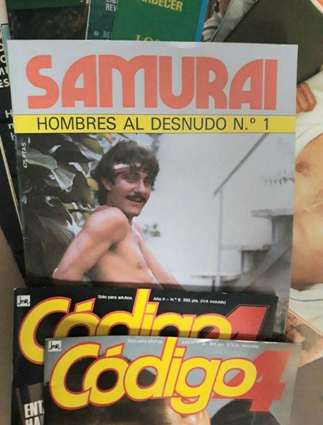 Antiguas revistas Gay