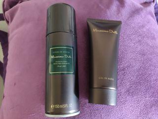 after shave, gel y desodorante Massimo Dutti nuevo