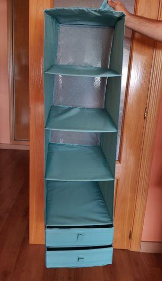 Organizador armarios + 15 perchas