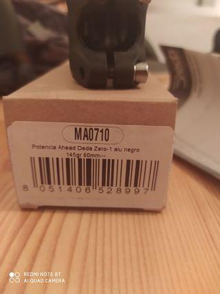 potencia deda 60 mm