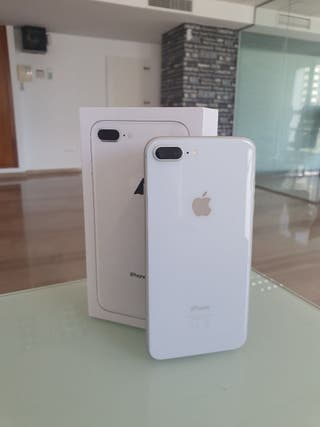 iphone 8+ 64gb plata
