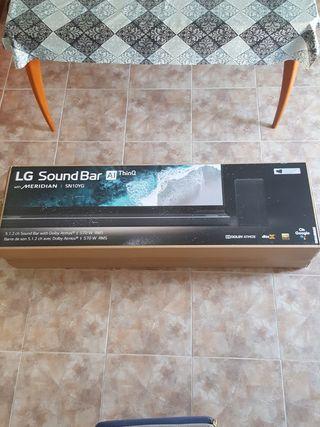 Barra de sonido Lg ( tope de gama) SN10YG