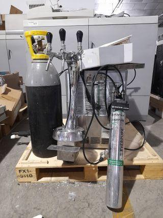 Dispensador de agua 3 grifos