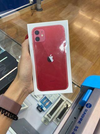 iPhone 11 64gb PRECINTADO ROJO