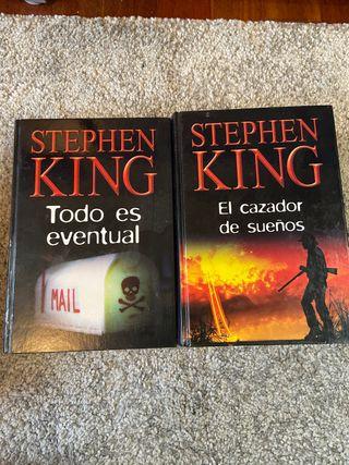 Pack libros Stephen King