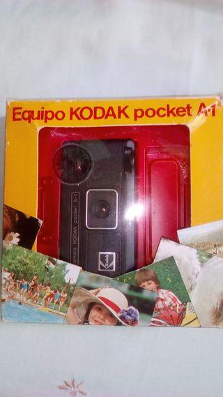 CAMARA FOTOS ANTIGUA KODAD POCKET A1