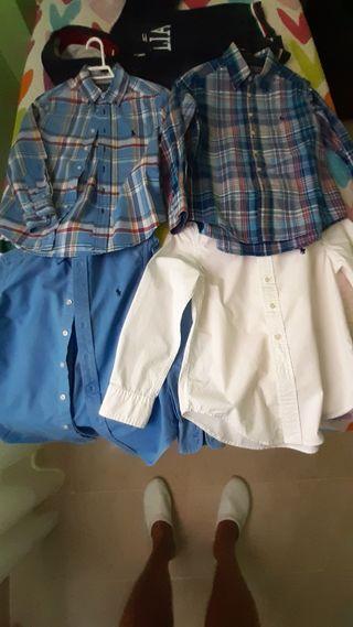4 camisas8 a 10