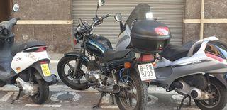 moto Honda CB 250 two fifty