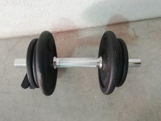 mancuerna pesas