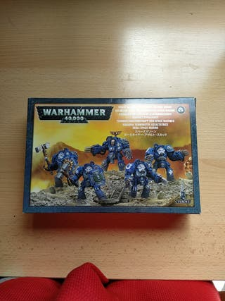 Warhammer 40000 Space Marine Terminators squad