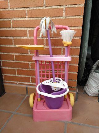 juguete mini carro limpieza