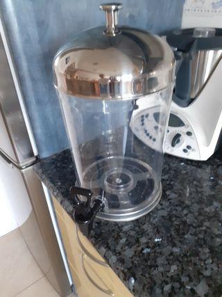 dispensador de agua o zumos con grifo
